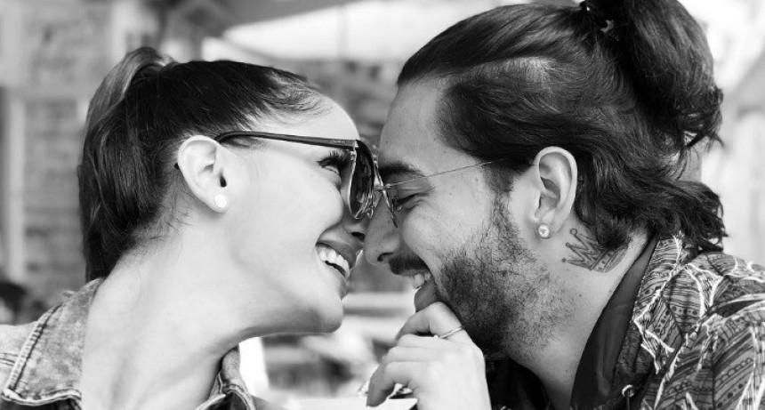 Maluma blanqueó su noviazgo con la sexy mujer de