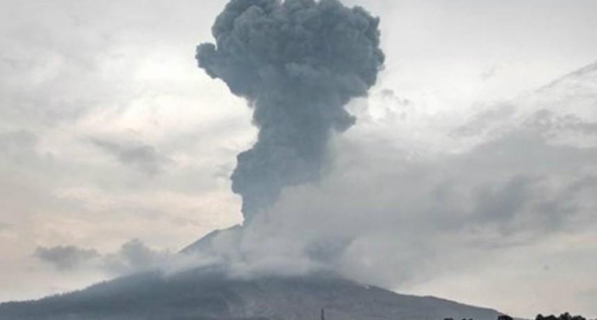 En Japón un volcán entró erupción: había estado
