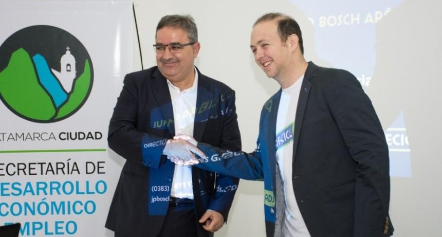 """Juan Pablo Bosch, presentó el proyecto """"ReciclAds"""""""