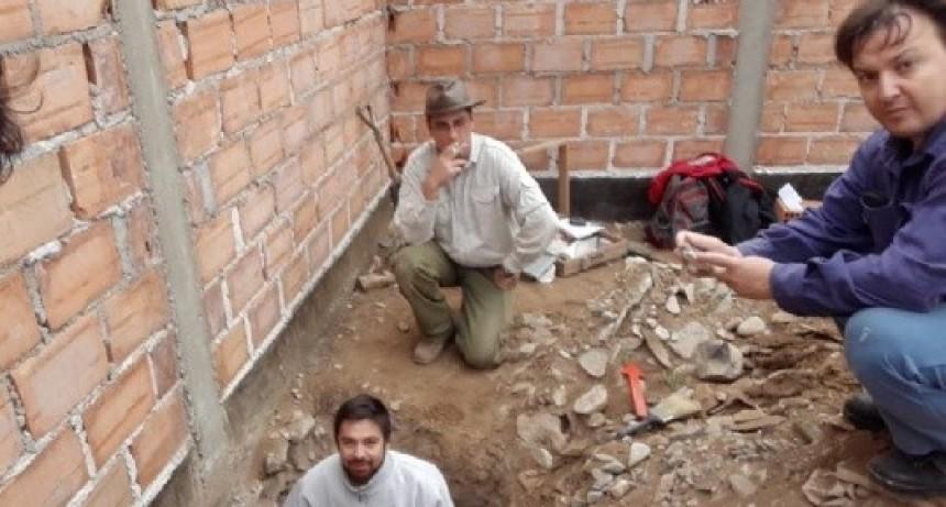 Los Restos hallados en el barrio Ojo de Agua tendrían entre 600 y 800 años de antigüedad