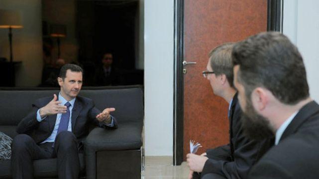 Al Assad elogió la defensa antimisiles provista por Rusia