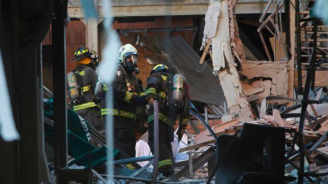 Explotó una clínica en Chile: hay tres muertos