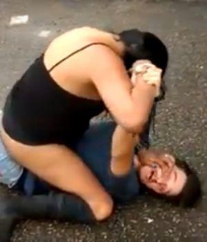 Travesti molió a piñas a cliente que no le pagó en Bosques de Palermo
