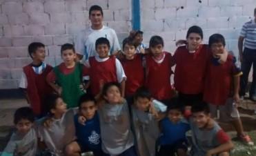 "Encuentro ""interpolis"" de fútbol infantil"