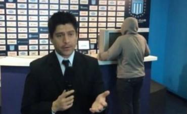 Racing hizo una parodia sobre el insólito robo en Independiente