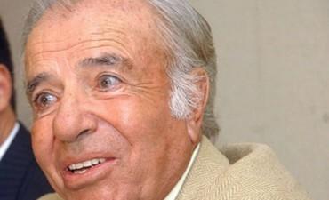 Menem lanza su candidatura a gobernador de La Rioja