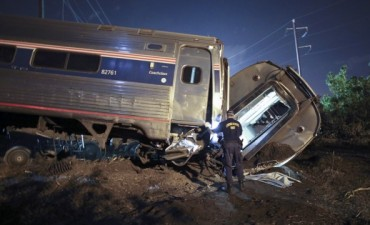 Descarriló un tren en Filadelfia: al menos 5 muertos y decenas de heridos