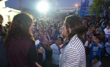 Lucía entregó soluciones habitacionales en el norte capitalino