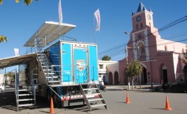 El camión promocional del Ministerio de Turismo visitara Fiambala