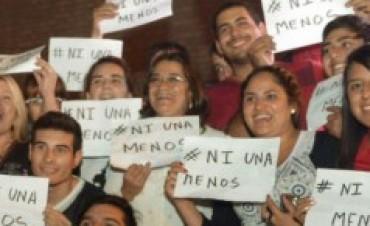 Lucía se suma  a la Marcha #Ni Una Menos
