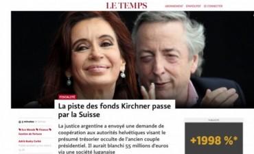 La pista de los fondos Kirchner pasa por Suiza