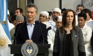 """Macri: """"Veto esta ley porque es una ley antiempleo, que va contra los argentinos"""""""
