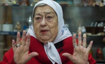 Hebe, furiosa conlas Abuelas por no cuestionar a Macri