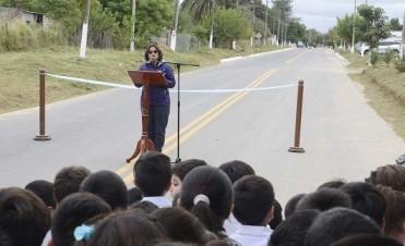 Inauguran el tramo Bañado de Ovanta - San Pedro de la Ruta Prov. 30