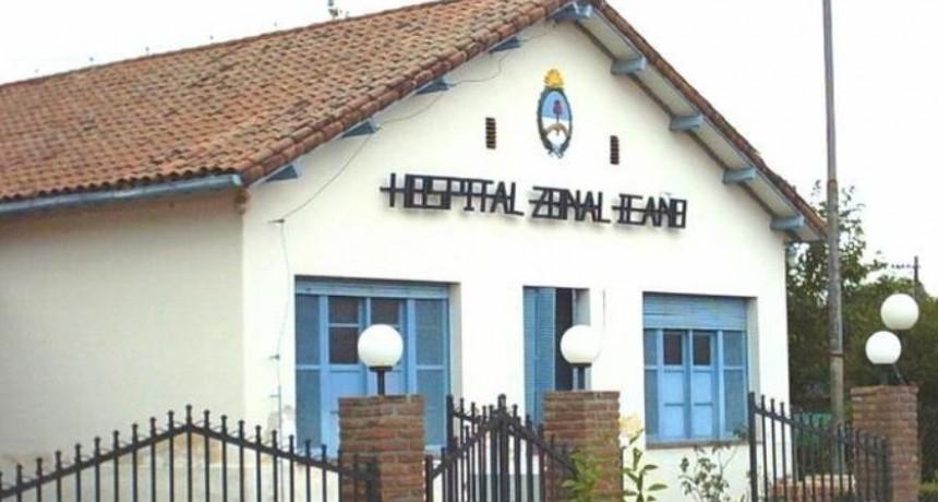 Hospital Icaño: Prestaba servicio  por 1000 pesos denuncio Irregularidades y  lo echaron