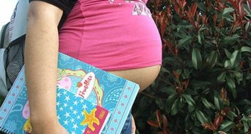 ¿Cuántos embarazos adolescentes hubo en Argentina en el 2017?