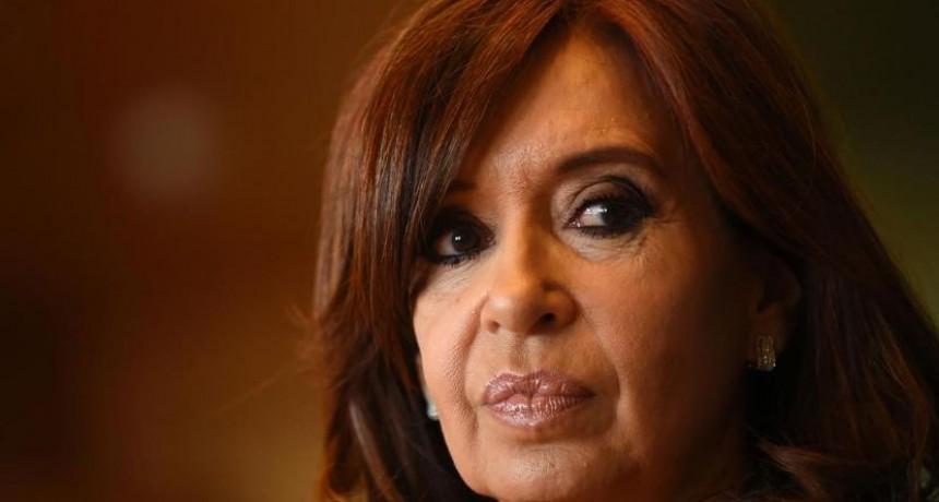 Cristina Kirchner avisó que no será candidata en 2019
