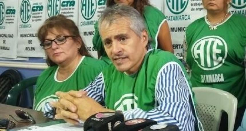 Denuncian a Ricardo Arevalo, de ATE Catamarca por Falsa Denuncia