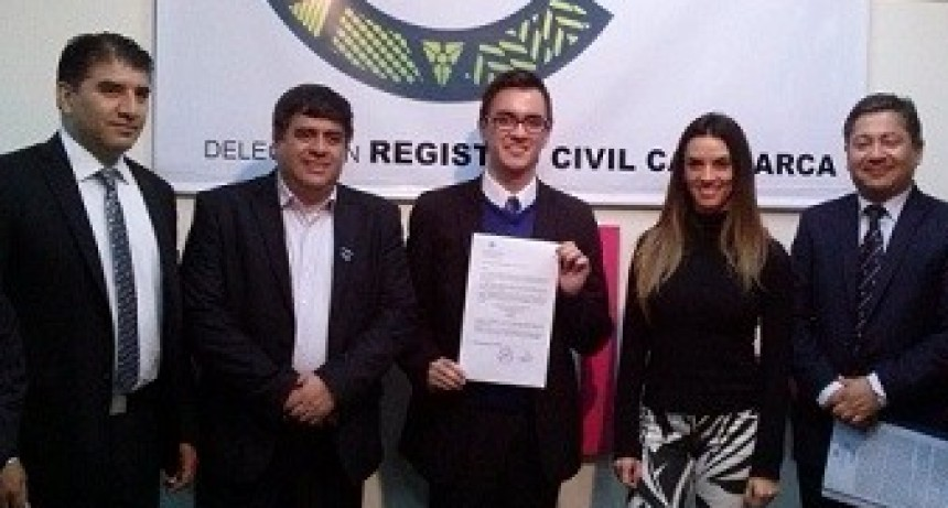 Convenio entre Casa de Catamarca y el Registro Civil de la Provincia