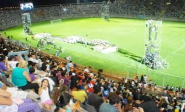 Dispositivos de Seguridad para los Partidos en el Estadio Bicentenario
