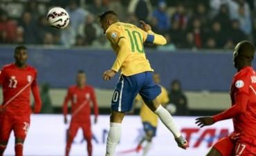 Brasil debió sufrir más de la cuenta para derrotar a Perú en Temuco