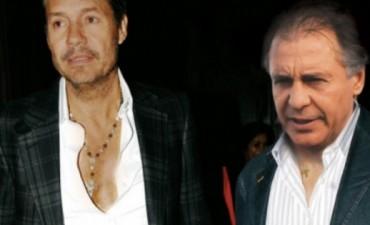 Tinelli, Cristobal López y Echegaray, denunciados por presunta