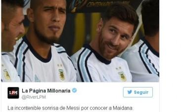 Tuits de la victoria de Argentina sobre Chile 2 - 0