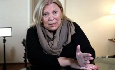 Carrió presentó un proyecto para impedir la jubilación de jueces con denuncias pendientes
