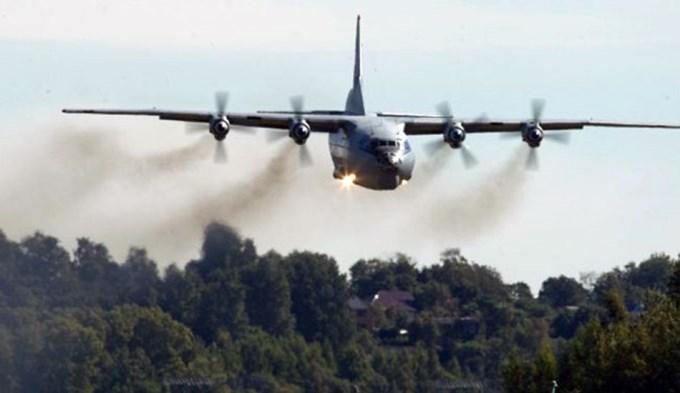 Se estrelló avión militar con 116 personas a bordo