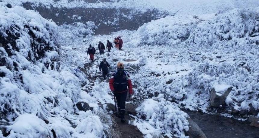 Bomberos Voluntarios de Santa María cuentan en detalle sobre el Operativo de rescate a funcionarios Nacionales