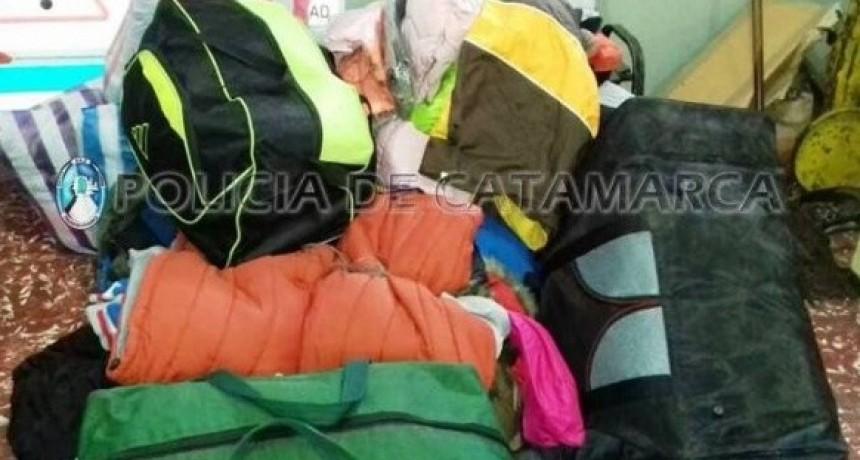 Secuestran 40 mil pesos de mercadería ilegal en un puesto caminero