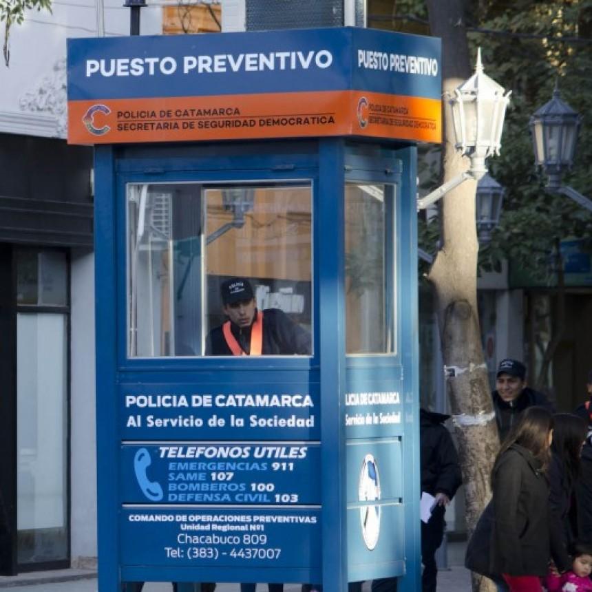 INSEGURIDAD: Robaron en un comercio a  metros de la garita policial