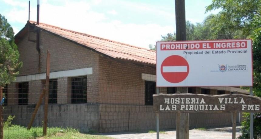 Entregan las llaves de la Hostería de Pirquitas al Municipio de Fray M. Esquiú