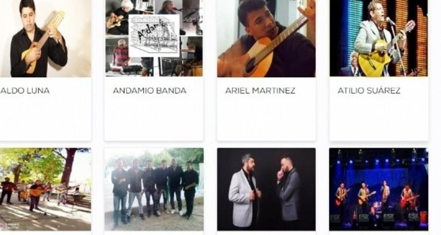 Se vota hasta el próximo viernes a los artistas locales para el Poncho 2018