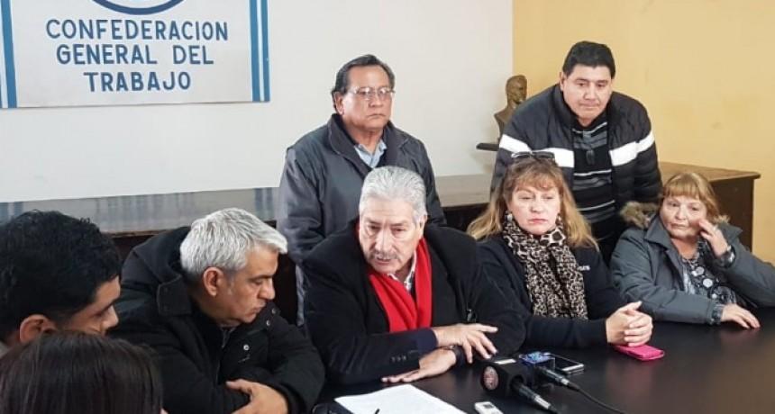 """Leonardo Burgos CGT: """"El trabajador no da para más, no aguanta más"""""""