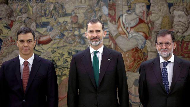 Pedro Sánchez asumió como presidente de España