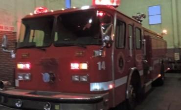 Incendio voraz causaron daños materiales totales en Una vivienda del Norte