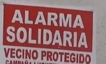 Alarmas solidarias para Valle Viejo