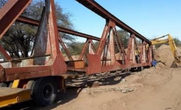 Antes de instalar el puente en Huaycama habrá que repararlo