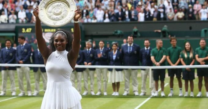 Serena conquistó Wimbledon y alcanzó la marca de Steffi Graf