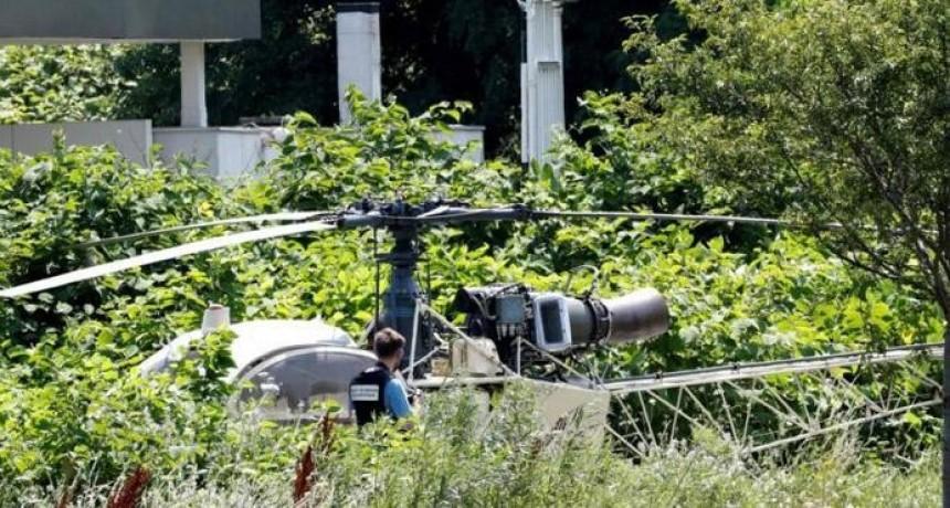 Francia: preso escapó de la cárcel en helicóptero
