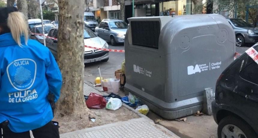 Encuentran cadáver de bebé en tacho de basura