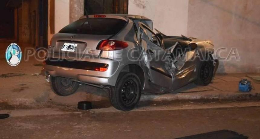 Fatal Accidente en la Av. Choya de la capital catamarqueña