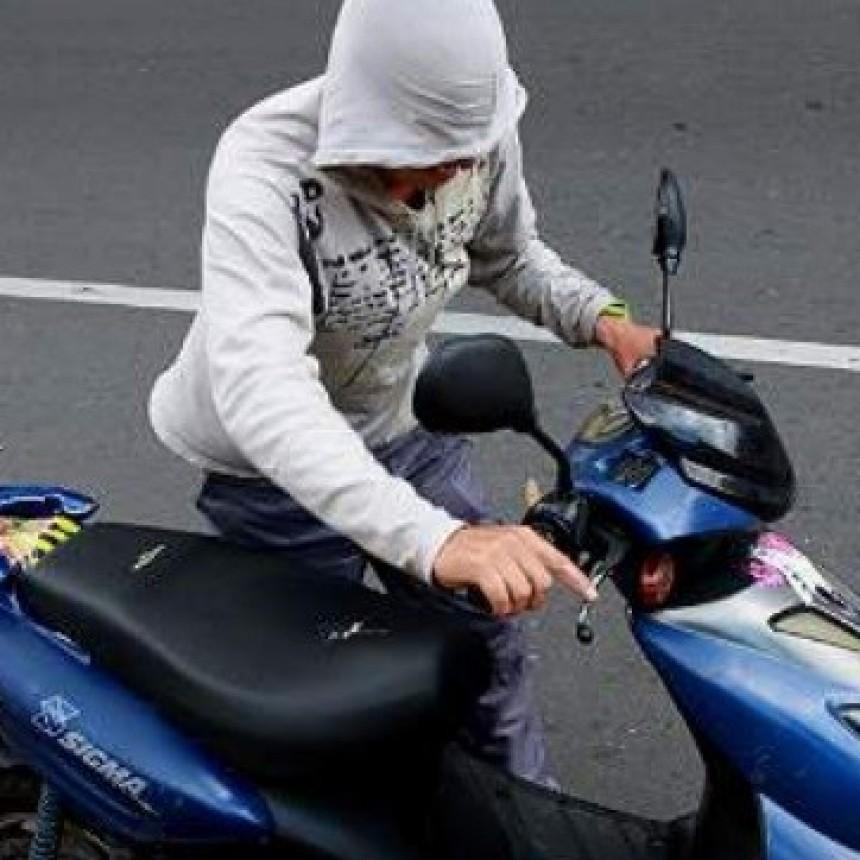 El Robo de motos en capital es imparable