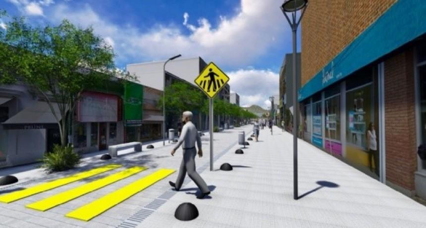 Extienden la peatonalización en Sarmiento y Rivadavia