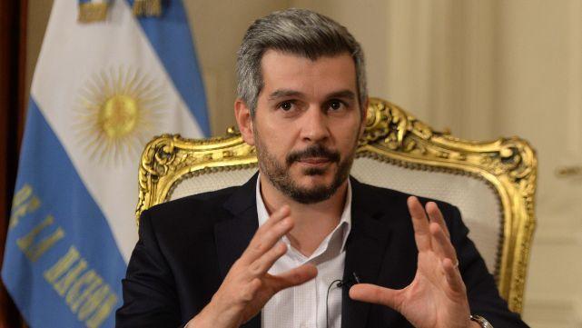 Marcos Peña reconoció