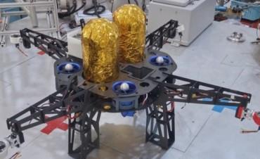 La NASA construye drones para buscar agua en la luna y en Marte