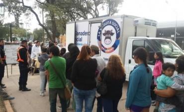 """La """"Vaquita social"""" Hoy en Piedra Blanca"""