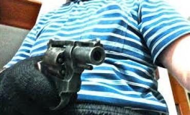 Asalto a mano armada en una Quiniela