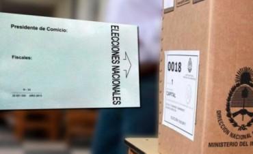 Aclaración: Los sobres de votación con fecha 2013 son válidos